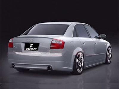 Carbon Fiber Iphone Case >> Audi A4 B6 PU body kit -Rear Bumper Lip